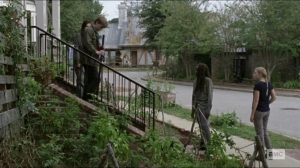 Scars- Michonne tells Henry that she wants to talk with Lydia- AMC, The Walking Dead
