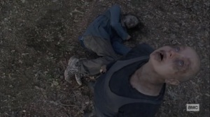 The Calm Before- Alpha kills a nearby Whisperer- AMC, The Walking Dead