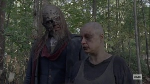 The Calm Before- Alpha tells Beta that she wants to be left alone- AMC, The Walking Dead