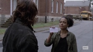 The Calm Before- Connie wants Daryl to stay safe- AMC, The Walking Dead