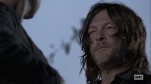 The Calm Before- Daryl asks Alpha if she killed Lydia- AMC, The Walking Dead