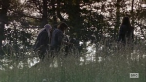 The Calm Before- Daryl meets up with Carol, Michonne, and Yumiko- AMC, The Walking Dead