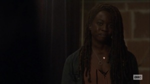 The Calm Before- Michonne wants to provide sanctuary for Lydia- AMC, The Walking Dead