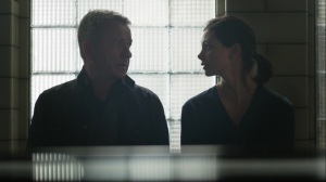 The Trial of Jim Gordon- Alfred and Leslie talk about raising children- Fox, Gotham