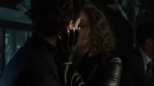 The Trial of Jim Gordon- Bruce and Selina kiss- Fox, Gotham