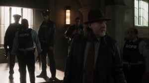 The Trial of Jim Gordon- Harvey as acting captain while Jim is out of commission- Fox, Gotham