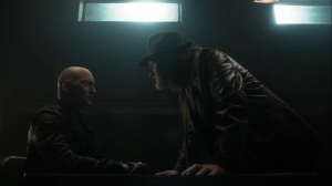 The Trial of Jim Gordon- Harvey demands to know who Zsasz is working for- Fox, Gotham