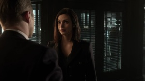 The Trial of Jim Gordon- Jim and Leslie talk about reunification- Fox, Gotham