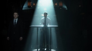 The Trial of Jim Gordon- Jim as the prosecutor at the trial- Fox, Gotham