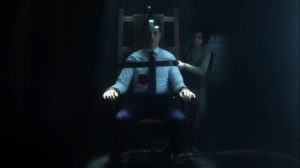 The Trial of Jim Gordon- Will straps Jim to the electric chair- Fox, Gotham