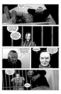 The Walking Dead #189- Laura comes to free Mercer