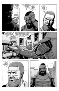 The Walking Dead #189- Mercer tells Rick that the people don't trust him