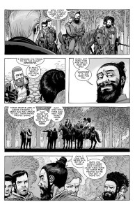 The Walking Dead #189- Rick meets up with Aaron, Jesus, and the others