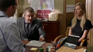 Discovery Weekend- Amanda, played by Heidi Gardner, wants Jonah to sign her NDA- Veep, HBO