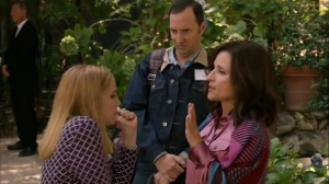 Discovery Weekend- Amy tells Selina that she's pregnant- Veep, HBO