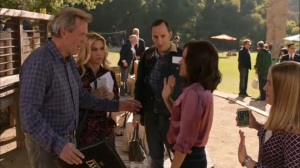 Discovery Weekend- Selina, Gary, and Amy meet up with Tom- Veep, HBO