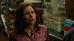 Discovery Weekend- Selina speaks with Tom after bombing her speech- Veep, HBO