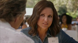 Discovery Weekend- Selina tells Felix that she would pick a running mate early- Veep, HBO