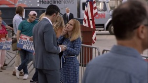 Iowa- Amy and Dan talk about the baby- HBO, Veep