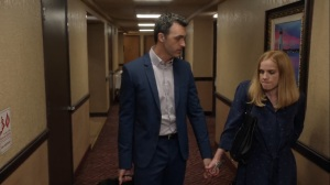 Iowa- Dan tells Amy that he's not ready to be a father- HBO, Veep
