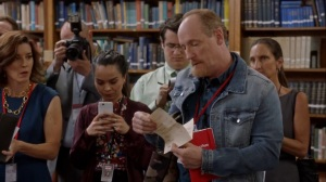 Iowa- Mike reads from a menu- HBO, Veep