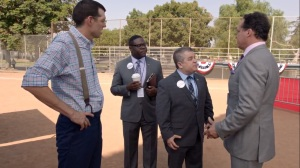 Iowa- Richard, Teddy, and Bill learn that Jonah is in a relationship with his step-sister- HBO, Veep