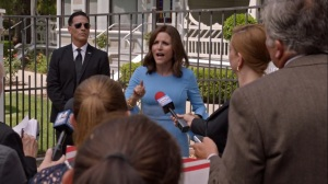 Iowa- Selina announces her candidacy for President of the United States- HBO, Veep