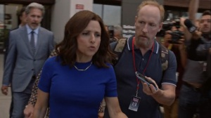 Iowa- Selina gives her thoughts on the latest shooting- HBO, Veep