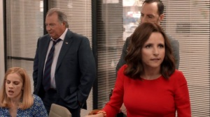 Iowa- Selina tells Dan that Amy hired the wrong person for the campaign- HBO, Veep