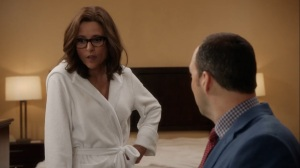Iowa- Selina tells Gary not to use anything she just told him- HBO, Veep