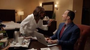 Iowa- Selina tells Gary why she deserves to be President- HBO, Veep