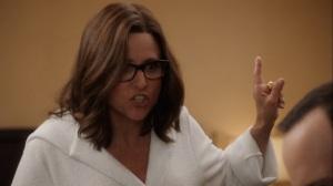 Iowa- Selina took a dump on the glass ceiling- HBO, Veep