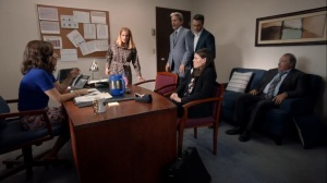 Iowa- Team Selina discusses where Selina will announce her run for President- HBO, Veep