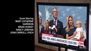 Iowa- Tom James announces that he's running for President- HBO, Veep
