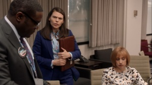 Pledge- Catherine and Marjorie suggest that Richard stop working on two campaigns- Veep, HBO