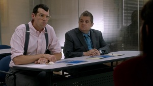 Pledge- Jonah and Teddy at Crawford Bloom Associates- Veep, HBO