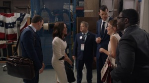 Pledge- Richard informs Selina and Jonah that he can no longer work on their campaigns- Veep, HBO
