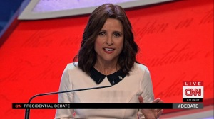 Pledge- Selina talks about her time in politics- Veep, HBO