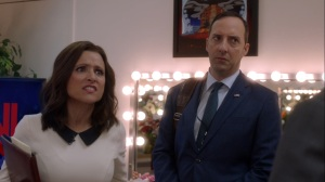 Pledge- Selina wants to take Talbot down a notch- Veep, HBO