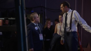 Pledge- Teddy tells Jonah to watch his words during the debate- Veep, HBO