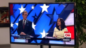 Pledge- Watching the debate- Veep, HBO