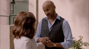 South Carolina- Dr. Thomas hopes that Selina can speak at his congregation- Veep, HBO
