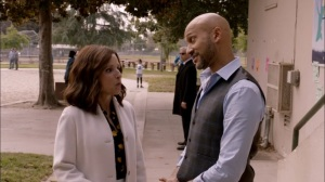 South Carolina- Selina meets with Dr. Jordan Thomas, played by Keegan-Michael Key- Veep, HBO