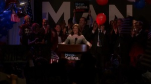South Carolina- Selina wins the South Carolina primary- Veep, HBO