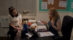 Super Tuesday- Amy tells Jonah that they need a copy of his birth certificate- Veep, HBO