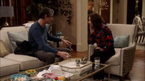Super Tuesday- Andrew tells Selina that they need a fall guy for the Meyer Fund- Veep, HBO
