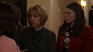 Super Tuesday- Catherine learns that her father may be lost at sea- Veep, HBO