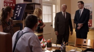 Super Tuesday- Furlong tells Jonah about his new security detail- Veep, HBO