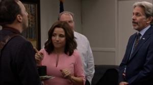 Super Tuesday- Gary tells Selina how he spent the faith based initiative money- Veep, HBO