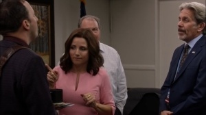 Super Tuesday- Gary tells Selina how he spent the faith based initiative money- Veep, HBO